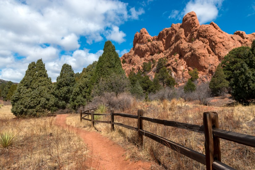 photo of the Scotsman Trail in Garden of the Gods