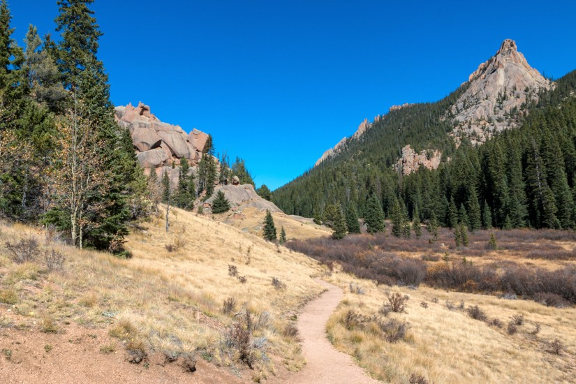 photo of the Crags Trail in Divide, Colorado