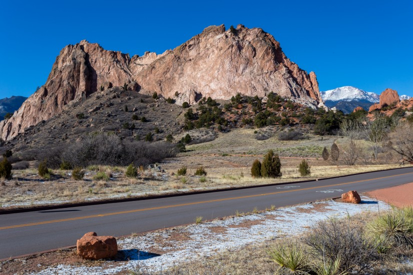 photo of a rock formation in Garden of the Gods