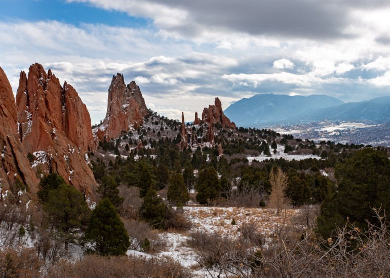 photo of Garden of the Gods in Winter