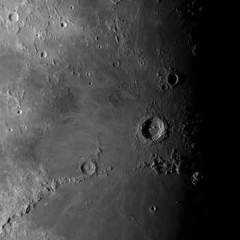 photo of the lunar crater Copernicus