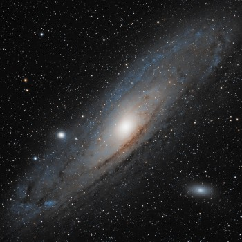 photo of the Andromeda Galaxy