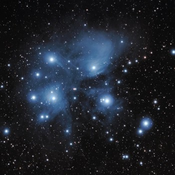 photo of the Pleiades