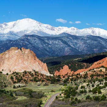 photo of Garden of the Gods and Pikes Peak