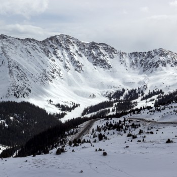 photo of the Arapahoe Basin East Wall