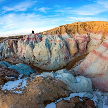 photo of the Paint Mines Open Space