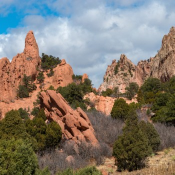 photo of Garden of the Gods rock formations