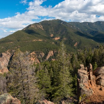 photo of Cheyenne Mountain in Colorado Springs