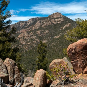 photo of Gray Back Peak Trail in Colorado Springs