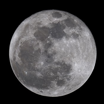 photo of the full moon