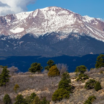 photo of the Pikes Peak summit